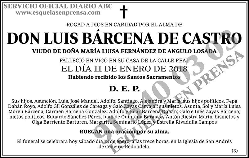 Luis Bárcena de Castro